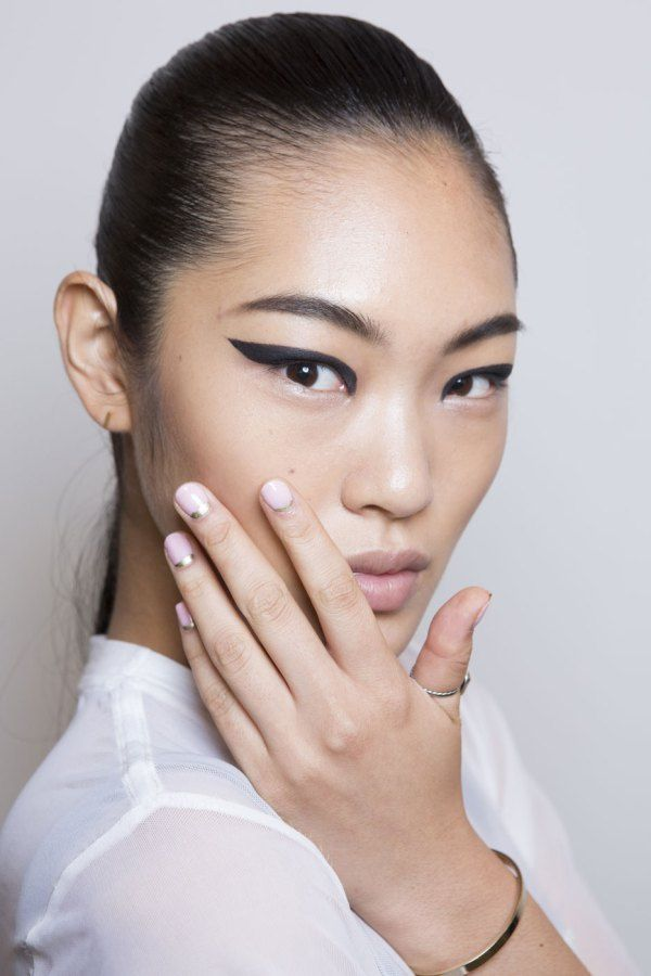 Nail Art New York Fashion Week Spring 2015 | Beauty High - Simple, Sophisticated Nail Art is Going to Be Huge for Spring 2015
