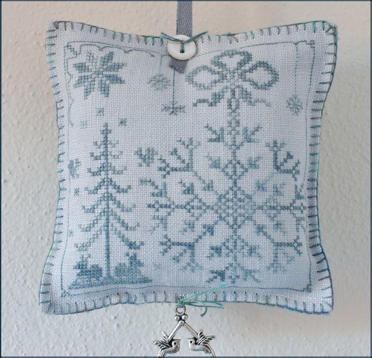 Winter....chart nearby.....so pretty.  Add charms at bottom and maybe top too!