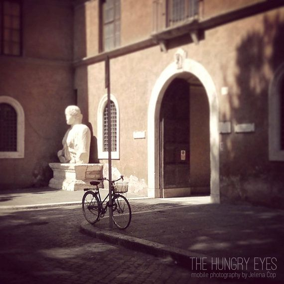 Italy Photography Rome Photography Bicycle by TheHungryEyes