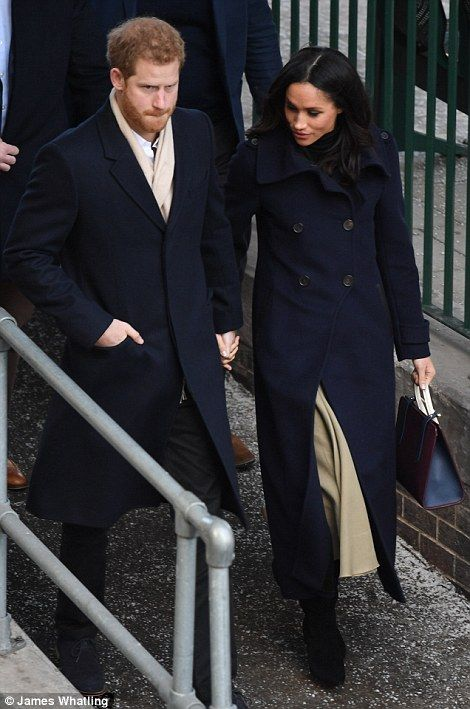 Prince Harry and Meghan Markle visit a Terrence Higgins Trust World AIDS Day charity fair in Nottingham this morning