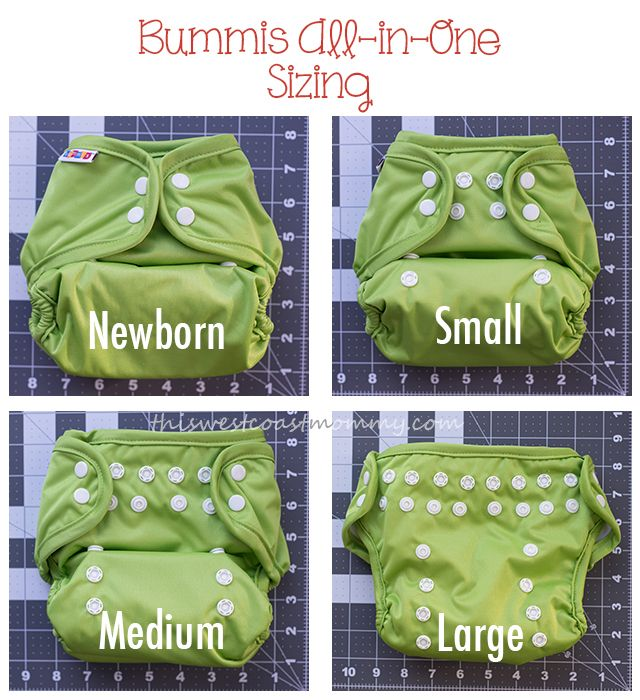 Bummis All-in-One Cloth Diaper Review {And Giveaway}