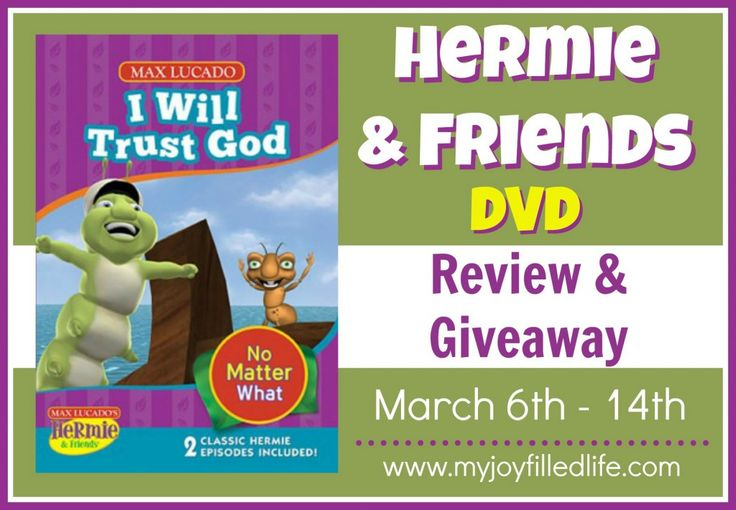Hermie & Friends I Will Trust in God DVD review and giveaway - ends 3/14