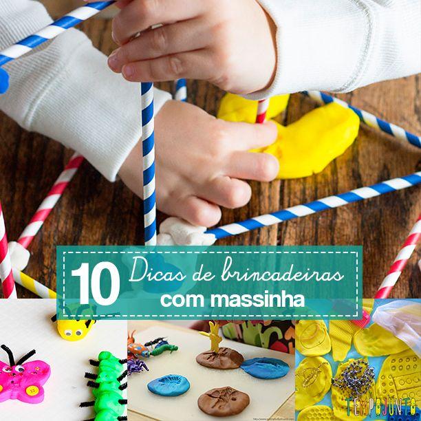 10 maneiras diferentes e divertidas de brincar de massinha que funcionam com crianças de todas as idades.