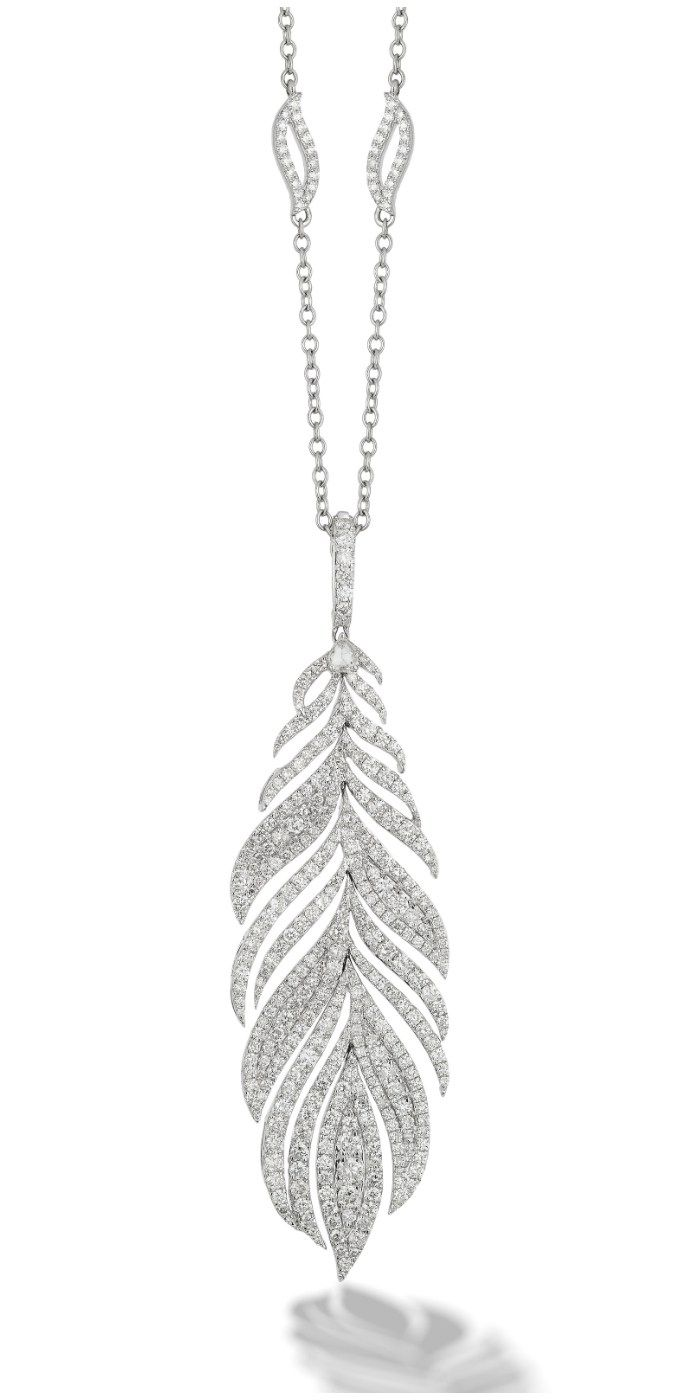 CS-DB Pendants Big Pearl Trendy Silver Necklaces