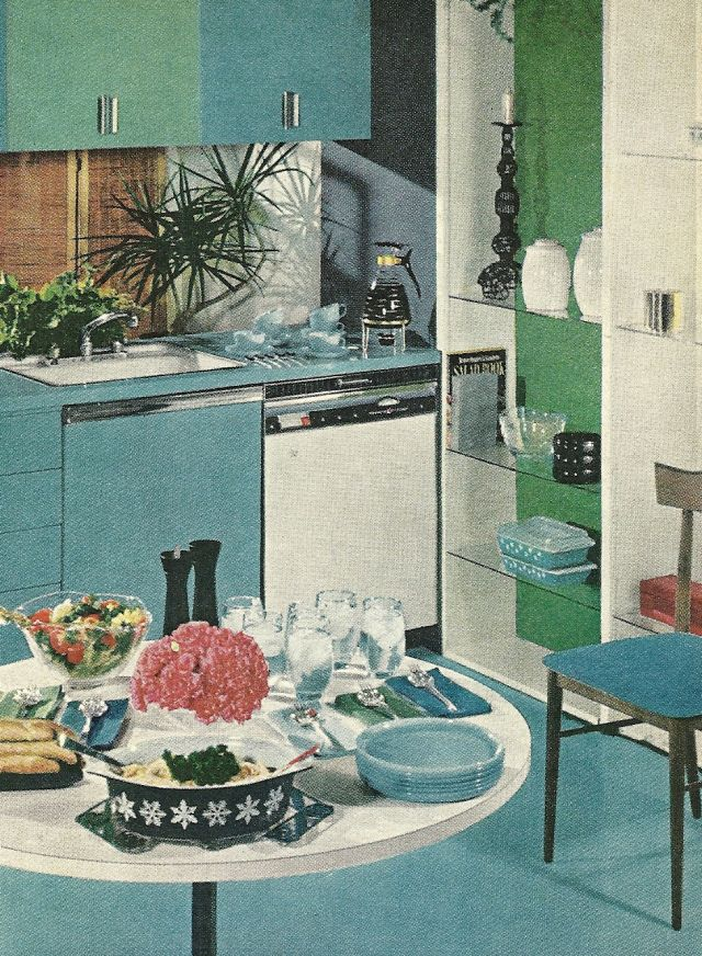 1960s Kitchens 10 best 1960s vintage kitchens images on pinterest | vintage