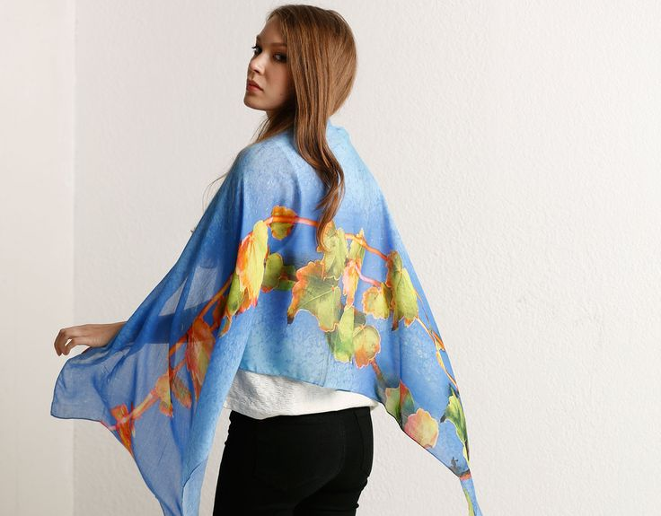 Modal Scarf - Evening Clouds by VIDA VIDA tm19S
