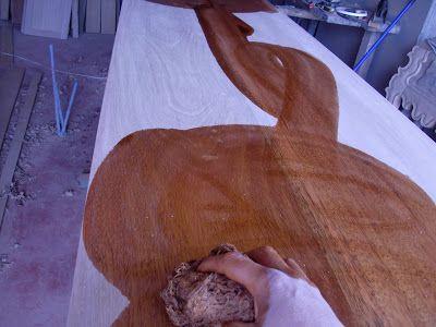 Decoraciones Manualidades En Madera: Pintar Mueble Paso A Paso