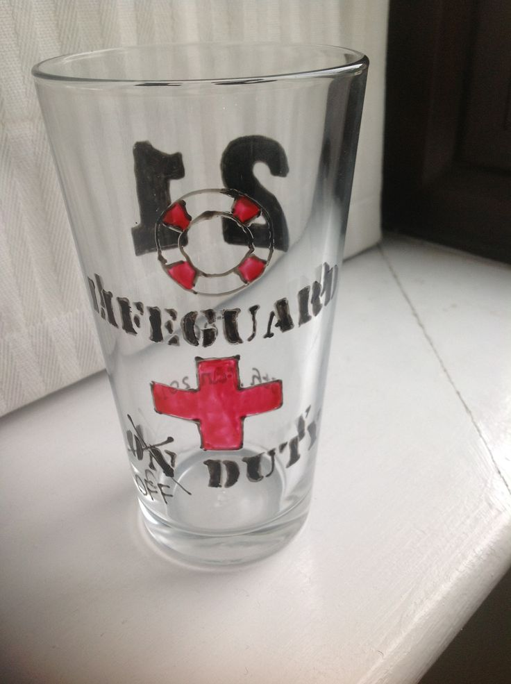 Lifeguard glass
