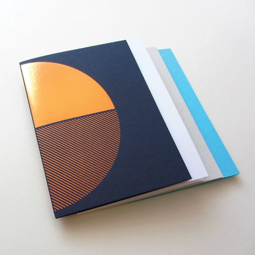 Copper foiled notebooks