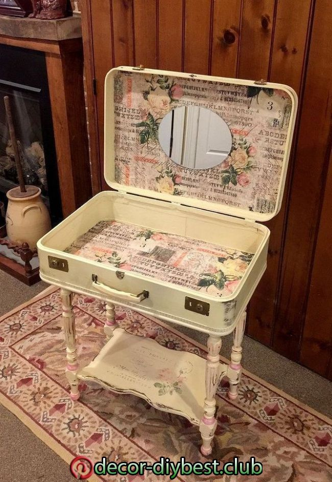 Vintage Koffer Tisch 5 Ideacoration Co Shabby Chic Bedrooms