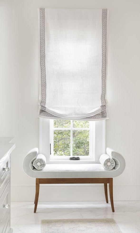 Custom Relaxed European Roman Shades Curtains Amp Drapes