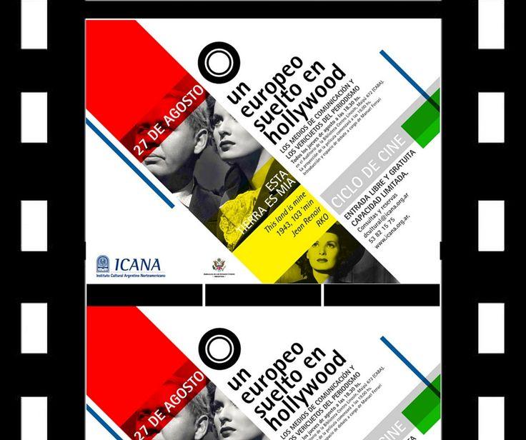 Ciclo de Cine en ICANA. Jueves 27 de Agosto 18:30hs.