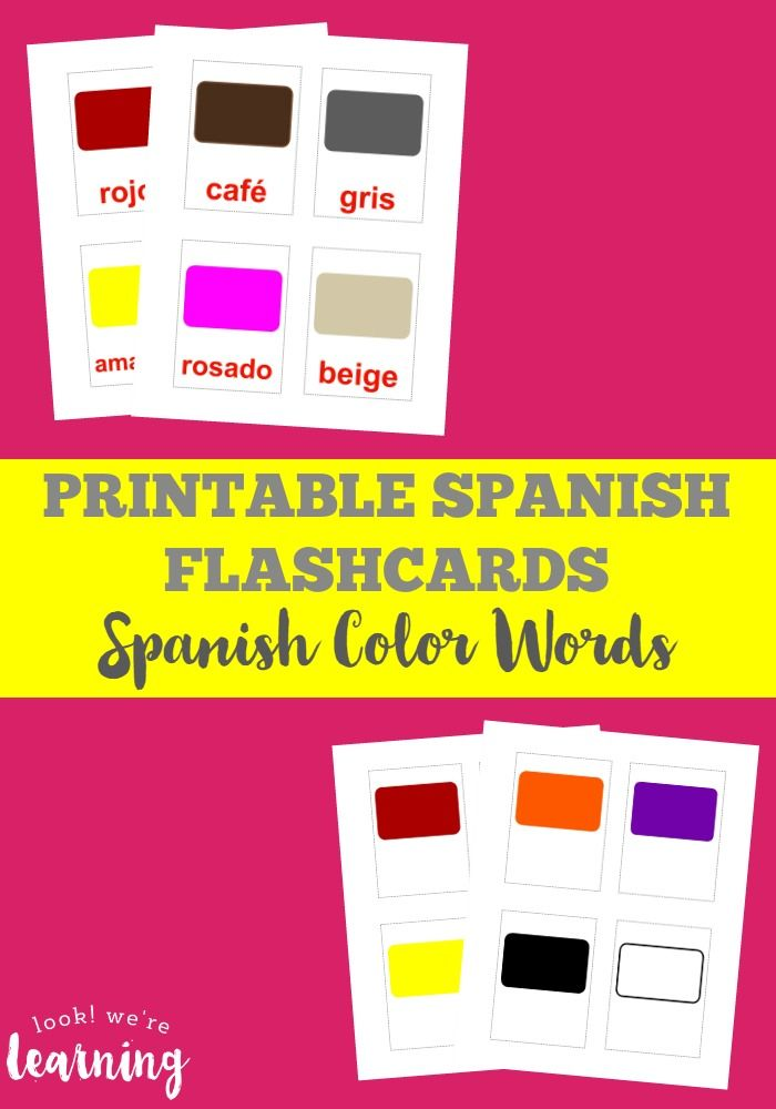 Best 25+ Spanish Flashcards Ideas On Pinterest