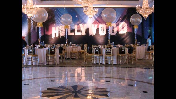 hollywood themed party ideas - YouTube