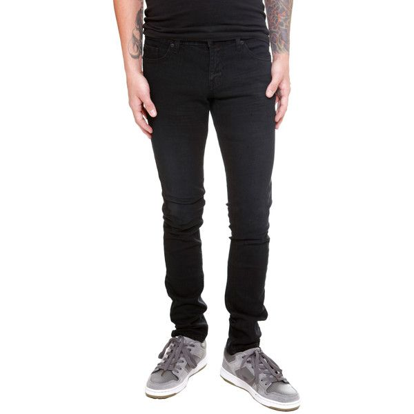 Guys Jeans: Shop Men's Colored, Skinny, Bootcut, Distressed Jeans &... ($17) ❤ liked on Polyvore featuring men's fashion, men's clothing, men's jeans, pants, jeans, men, guys, bottoms, mens distressed denim jeans and mens skinny bootcut jeans