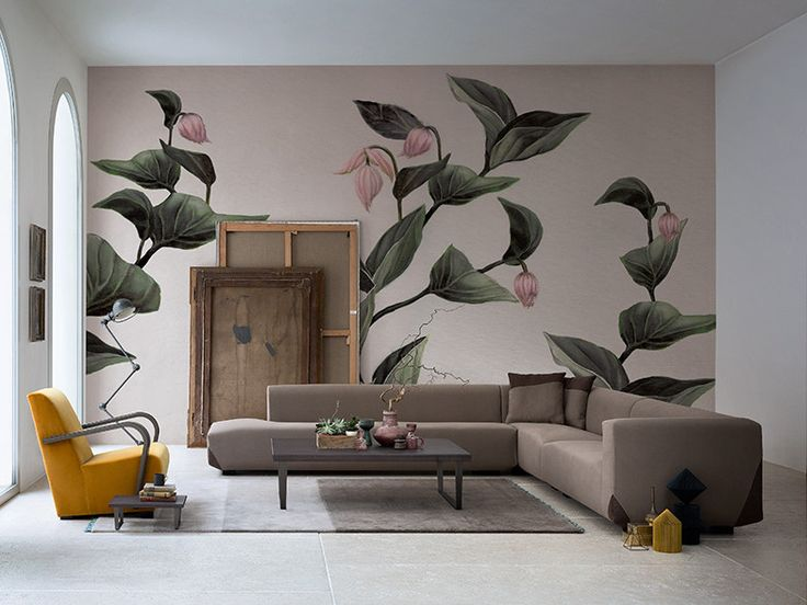 Die besten 25+ Tapete blumen Ideen auf Pinterest Blumen wand - moderne tapeten fürs wohnzimmer
