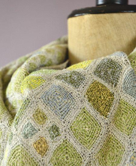 Sophie Digard / echape linen losange lilliput