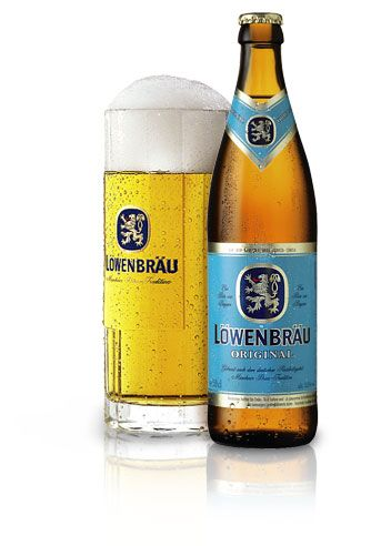 Lowenbrau beer....back in the '70's & 80's before Miller ruined it