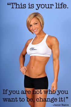 Jamie Eason is a great example of clean living! Major motivation!