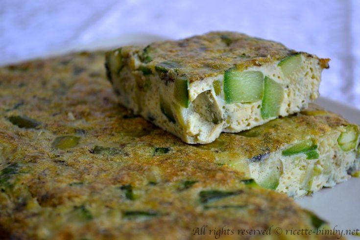 Frittata di asparagi e zucchine Bimby • Ricette Bimby
