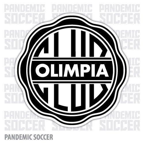 Olimpia Asuncion Paraguay Vinyl Sticker Decal Calcomania