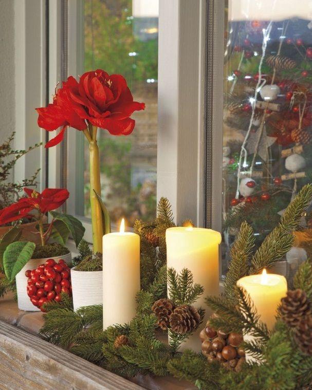 Pembe Yastık.: Yeni yıl ruhunu yansıtan bir ev...