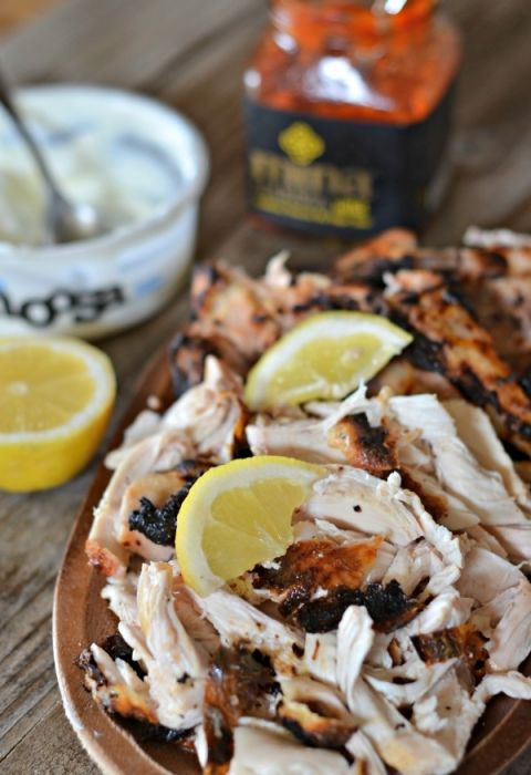 Yogurt Marinated Chicken Tacos with Harissa | Recipe ...
