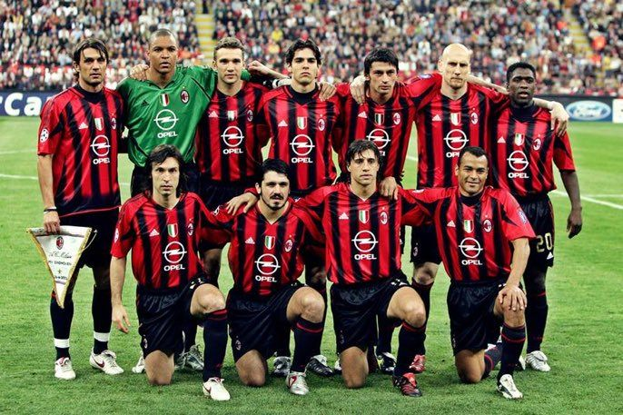 Roxy Palace On Twitter Ac Milan Milan Football Dream Team