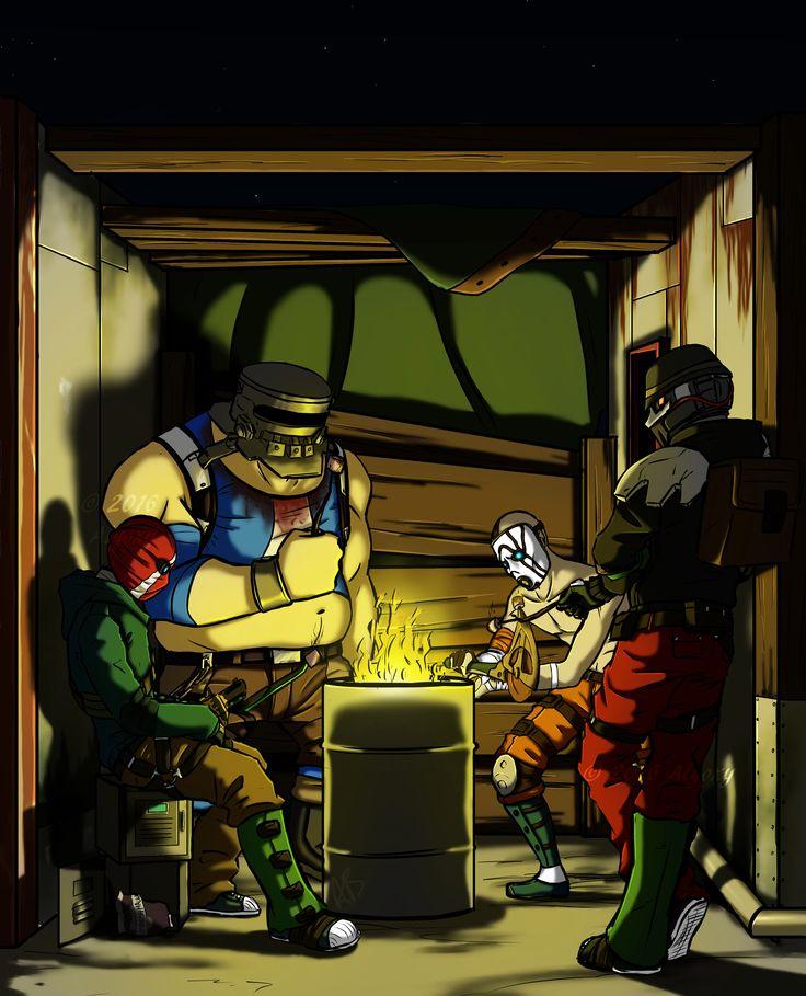 Bandit Marshmallow Toasting Night - Borderlands