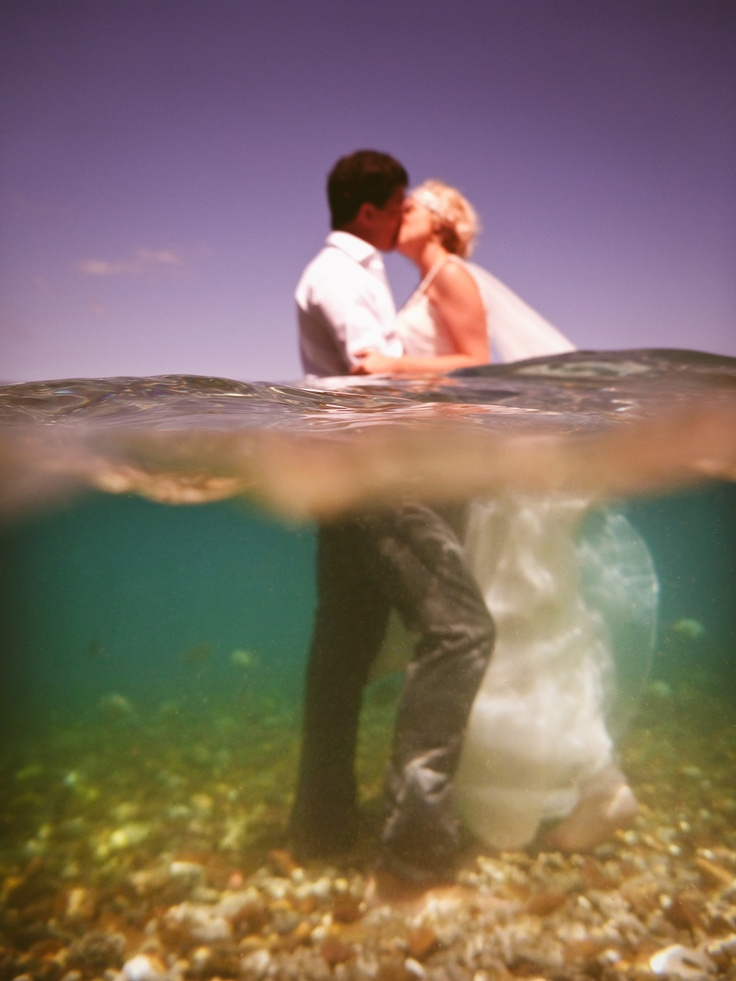 Water And The Wedding Dress Photographer Lisa Michele Burns