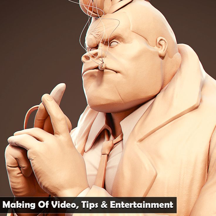 Gori-San - Yan Sculpts A Stylized Gorilla Video Edition, Yanal Sosak on ArtStation at https://www.artstation.com/artwork/x4JkE