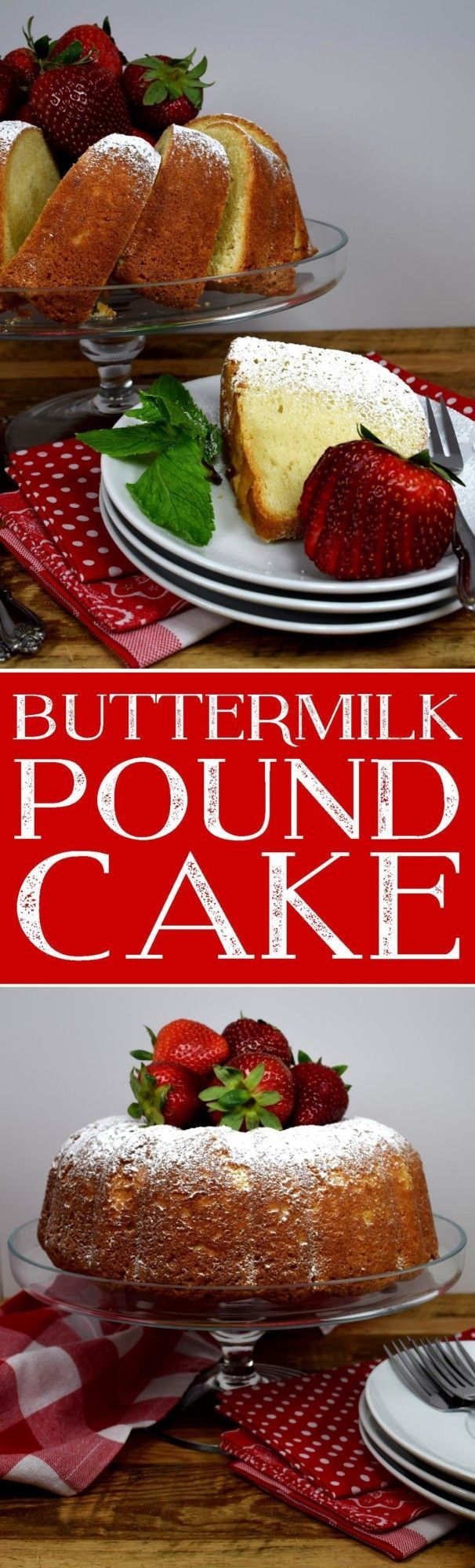 Butermilk Pound Cake
