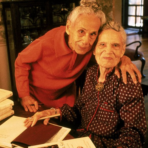 Delany Sisters , Daughters of emancipated slaves, Sadie (1889-1999) and Bessie (1891-1995) were civil rights activists. Sadie was the first African American woman to teach Domestic Science and Bessie the second to be granted a dentistry license in NY state.