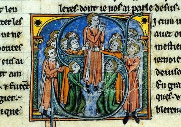 Godfrey of Bouillon was a medieval Frankish nobleman best known for his role as one of the main leaders during the First Crusade. As a consequence of this successful military expedition to the Holy La