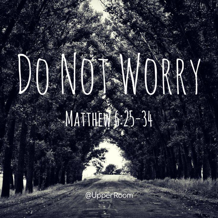 Matthew 6:25-34