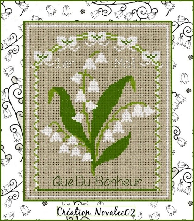 Point de croix*m@*Cross stitch