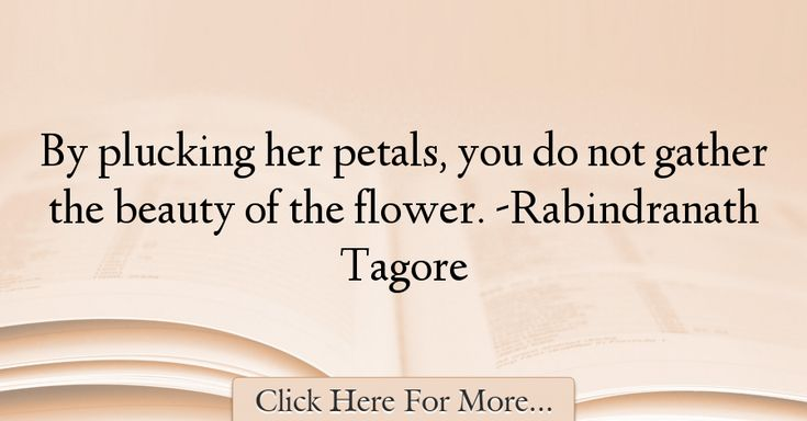 Rabindranath Tagore Quotes About Beauty - 5296