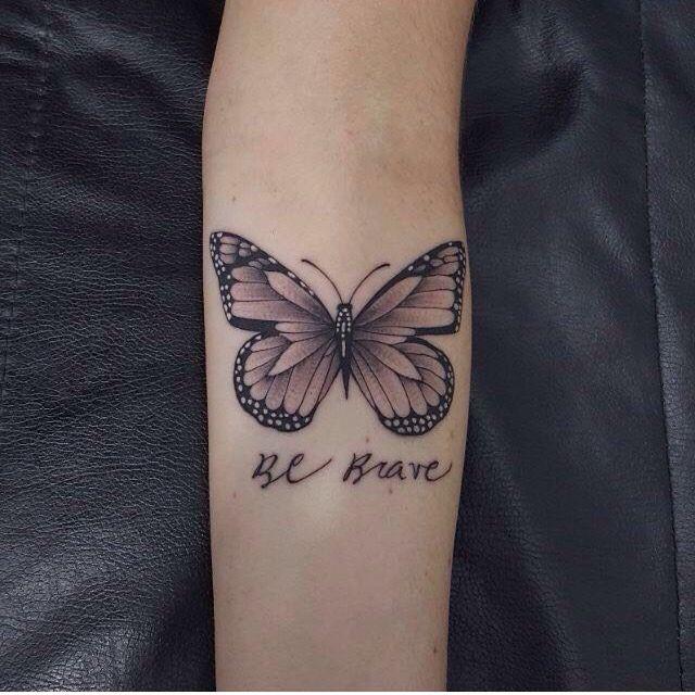 Tattoo borboleta