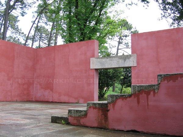 Recuperação e Valorização da Quinta da Conceição + Pavilhão de Ténis (1957), Leça da Palmeira - Matosinhos. Arq. Fernando Távora