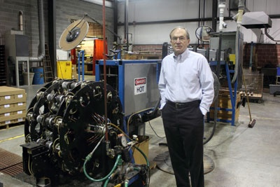 Tom Moran, COO of Ohio's Midwest Plastics Fabricators (MPF).  Tom is a prolific inventor and client.