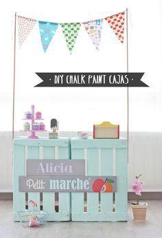 Diy con chalk paint para bonitizar tus muebles: personalizar una cubertería, una cómoda, una mecedora... ¡Parecerán otros!