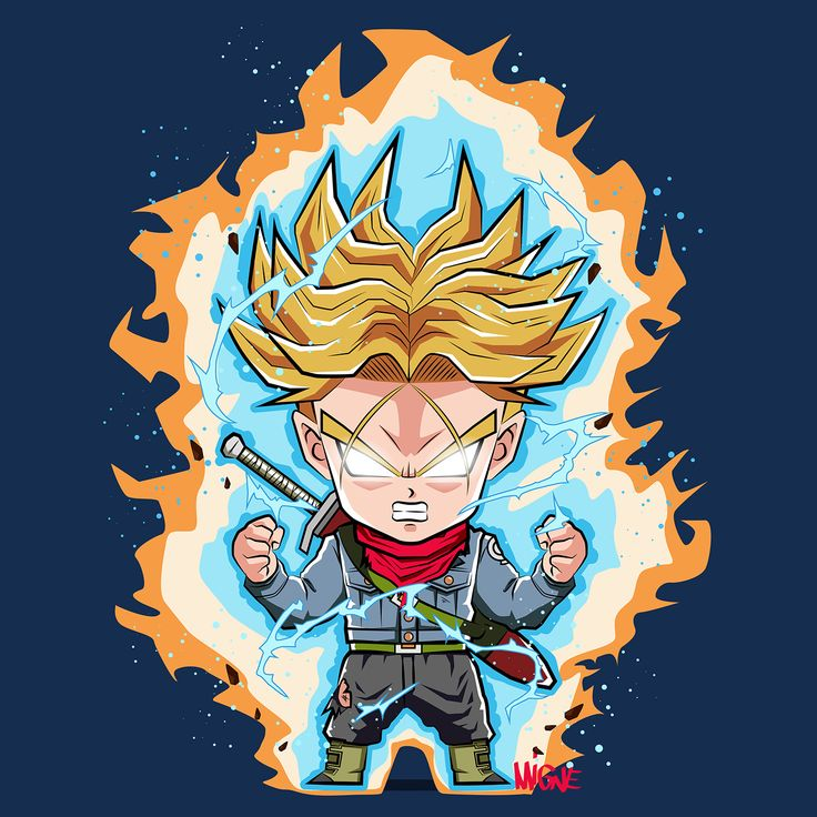 Chibi trunks - Visit now for 3D Dragon Ball Z compression shirts now on sale! #dragonball #dbz #dragonballsuper