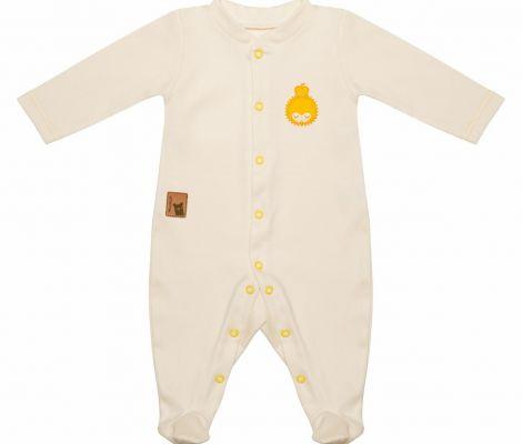 Ubranka dla noworodka - PAJACYK Z JEŻEM