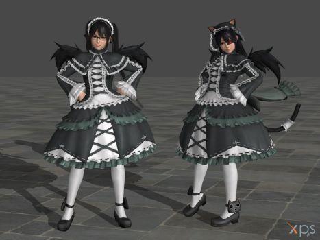 DOA5 Marie Rose Costume 22 Senran Kagura Mashup by rolance