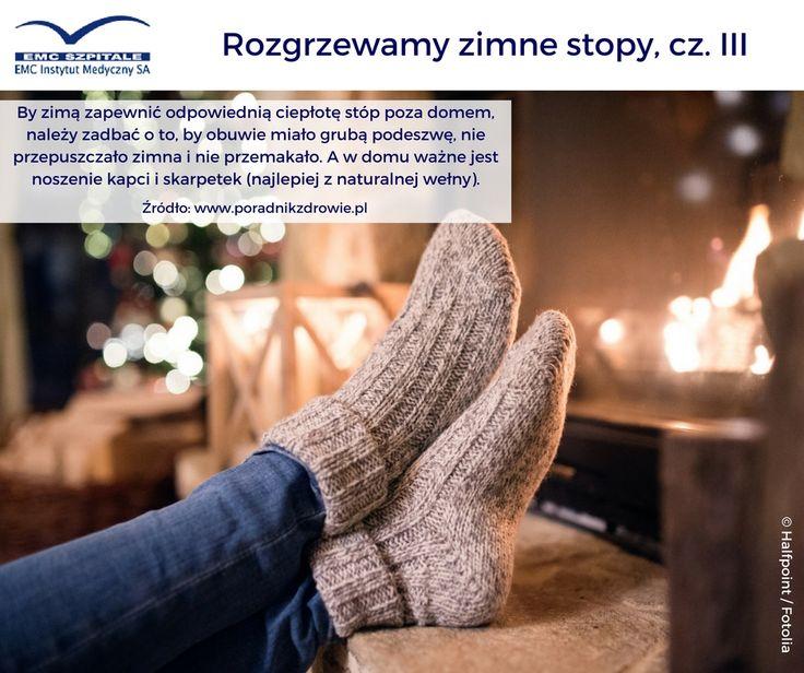 Już za chwilę Święta Bożego Narodzenia, część z Was będzie pewnie podróżować do rodziny, odwiedzać bliskich, chodzić na spacery. Mamy dla Was kolejny sposób na ciepłe stopy :) #emc #emcszpitale