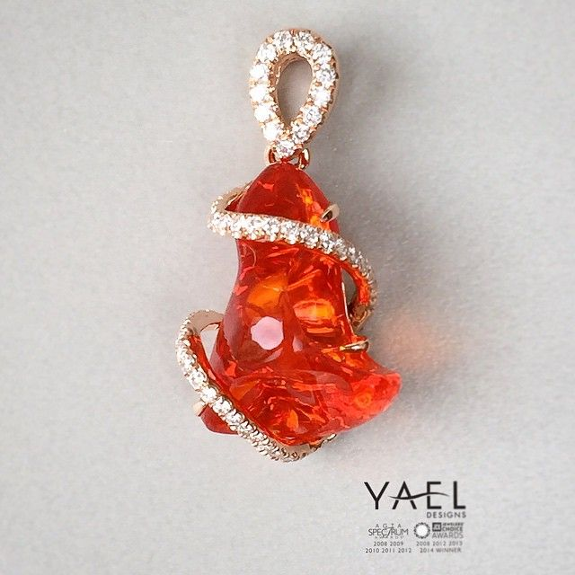 76 best Fire Opal images on Pinterest Fire opals Gems and Jewels