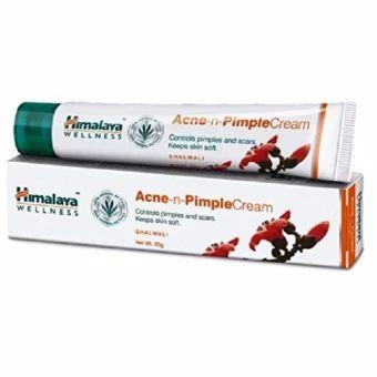 รีบเป็นเจ้าของ  Himalaya Herbals Acne-n-Pimple Cream, 20g. ครีมแต้มสิว สิวอักเสบสิวผ  ราคาเพียง  261 บาท  เท่านั้น คุณสมบัติ มีดังนี้ ยาเเต้มสิวผดผื่นแดงเม็ดเล็กและรอยแดงสิว ช่วยรักษารอยแดงของสิว รอยบวมนูนแดงของสิวผดผื่นแดงเม็ดเล็ก ที่เพิ่งเริ่มเป็นหรือเป็นเรื้อรังมากนานสามารถแต้มบริเวณสิว