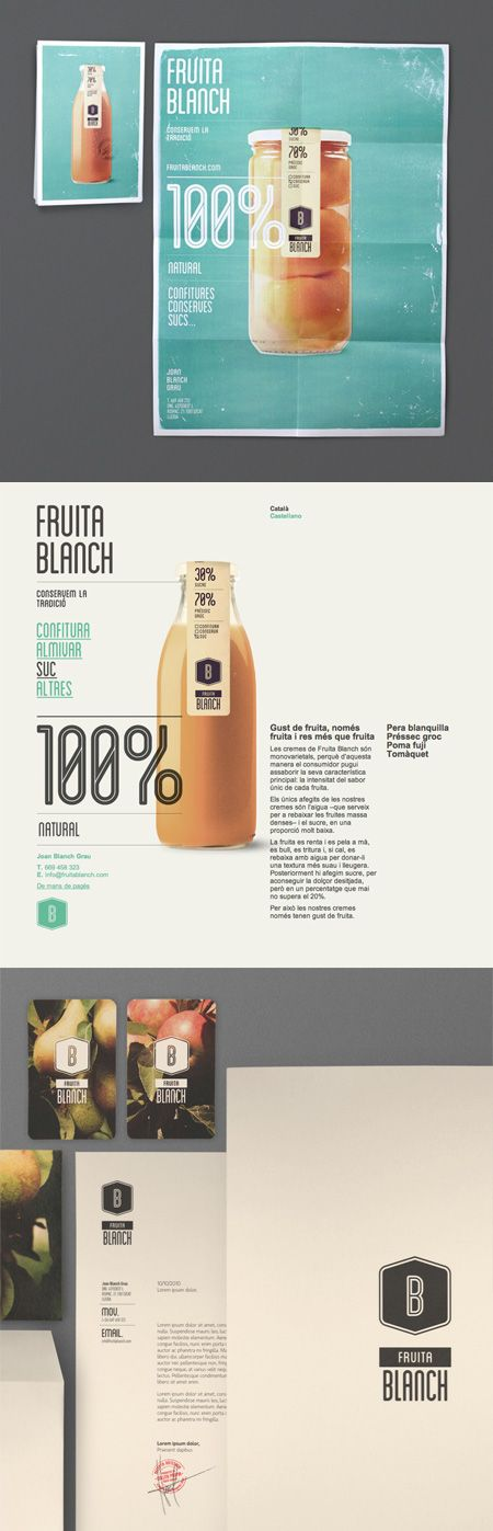 brandingDesign Products,  Internet Site,  Website, Web Site, Packaging Design, Graphics Design, Fruita Blanche, Products Design, Labels Design