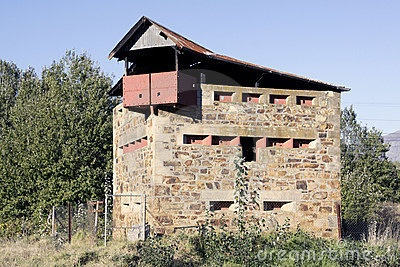 Anglo-Boer War Block House by Awie Badenhorst, Oct 11, 1899: Boer War begins in South Africa