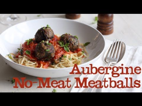 Aubergine No-Meat Meatballs from Abel & Cole #pasta